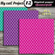 DIGITAL PAPER Quaterfoil - Scrapbooking  & graphics - Geomatric Shapes