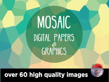 DIGITAL PAPERS & GRAPHICS - Mosaic pattern