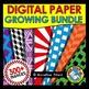 COLORFUL BACKDROPS CLIPART (300 DIGITAL PAPERS BUNDLE) BACKGROUNDS CLIPART PACK
