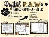 DIGITAL PAW Paragraph-a-Week