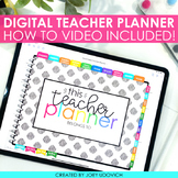 DIGITAL TEACHER PLANNER | Ipad PLANNER | GoodNotes PLANNER