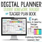 DIGITAL PLANNER  - Google Classroom - Student Planner - Teacher Plan Book