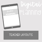 DIGITAL PLANNING: TEACHER PLANNING BUNDLE