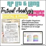 DIGITAL & PRINT BUNDLE AP Lit & AP Lang Textual Analysis G