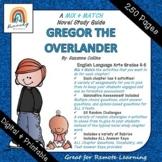 DIGITAL & PRINT   Gregor the Overlander Novel Study