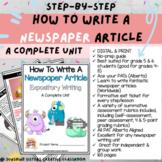DIGITAL & PRINT How to Write a Newspaper Article   Alberta