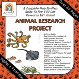DIGITAL & PRINT | Step-By-Step Animal Research Project for