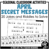DIGITAL & PRINTABLE April Secret Messages