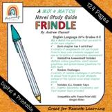 DIGITAL & PRINTABLE   Frindle Novel Study