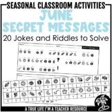 DIGITAL & PRINTABLE June Secret Messages