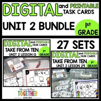 DIGITAL/PRINTABLE TASK CARDS BUNDLE Module 2