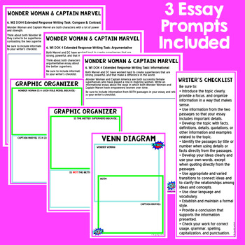 DIGITAL Paired Passage Set: 4th - 9th Grade Reading Level DIFFERENTIATED Set