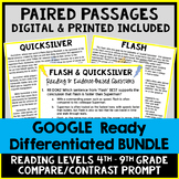 DIGITAL Paired Text BUNDLE - Informational Passages - Common Core Aligned