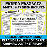 DIGITAL Paired Text - Informational Passages - Common Core Aligned