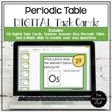 DIGITAL Periodic Table of Elements Task Cards - DISTANCE LEARNING