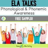 DIGITAL Phonological and Phonemic Awareness Activities - FREE SAMPLER