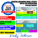 DIGITAL Pixar Short- Mixed Reading Review Project- Plot, Sequence, Flashback...