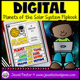 Planets DIGITAL Flipbook (Google Classroom Distance Learni