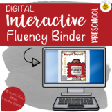 DIGITAL Preschool Interactive Fluency Binder for Speech Th