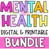 DIGITAL & Printable Mental Health Check - In Forms BUNDLE