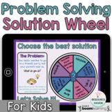 DIGITAL Problem Solving Solution Wheel (for kids) - Distance Learning