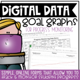 IEP Goal Progress Monitoring | Data Collections Sheets