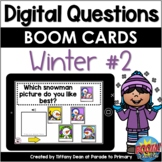 DIGITAL Questions of the Day - Winter #2 - Distance Learning - Boom Cards