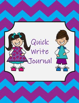DIGITAL Quick Write Journal Sample FREEBIE
