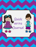DIGITAL Quick Write Journal Sample FREEBIE
