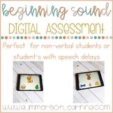 DIGITAL Beginning Sound Assessment
