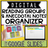 DIGITAL READING GROUPS AND ANECDOTAL NOTES ORGANIZER IN GO