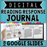 DIGITAL READING RESPONSE JOURNAL IN GOOGLE SLIDES™