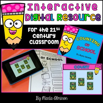 DIGITAL RESOURCE: Counting at School {FREEBIE}
