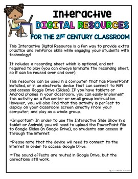 DIGITAL RESOURCE: Find the LOWERCASE Letter