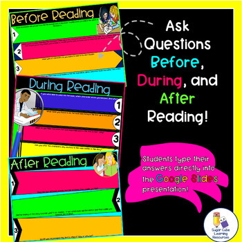 DIGITAL Reader's Response & Graphic Organizers: Literature: Distance Learning