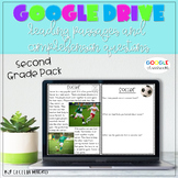 GOOGLE CLASSROOM Reading Comprehension Passages and Questions 2nd Grade