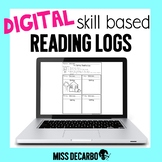 DIGITAL Reading Logs for Distance Learning