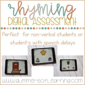 DIGITAL Rhyming Assessment