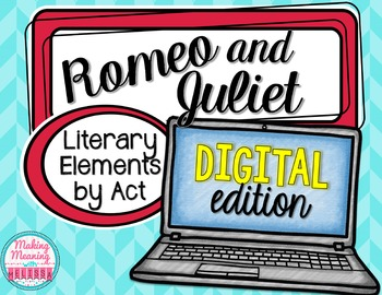Romeo and Juliet Act II - Literary Elements - PAPERLESS