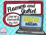 Romeo and Juliet Act V - Literary Elements - PAPERLESS