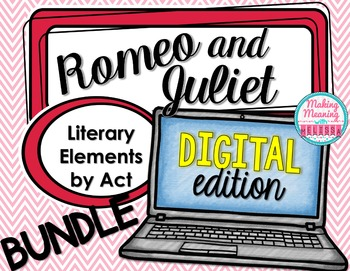 DIGITAL - Romeo and Juliet - Literary  and Dramatic Elements