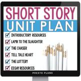DIGITAL SHORT STORY UNIT PLAN | GOOGLE DISTANCE LEARNING