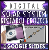 DIGITAL SOLAR SYSTEM RESEARCH PROJECT FOR GOOGLE SLIDES™