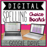 DIGITAL SPELLING/WORD STUDY ACTIVITIES CHOICE BOARD FOR GO