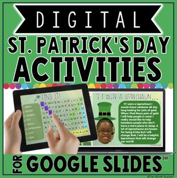 DIGITAL ST. PATRICK'S DAY ACTIVITIES IN GOOGLE SLIDES™☘