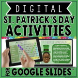 DIGITAL ST. PATRICK'S DAY ACTIVITIES IN GOOGLE SLIDES™☘