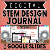 DIGITAL STEM DESIGN JOURNAL IN GOOGLE SLIDES™