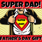 DIGITAL SUPERHERO DAD! Father's Day SUPER-DAD Gift from KI
