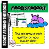 DIGITAL Scoot Around the Room SUBTRACTION