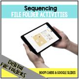 DIGITAL Sequencing File Folder Activities